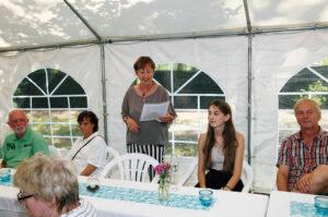 Fantastischer Vortrag über die Gründungszeit der Gruppe von unserem Gründungsmitglied Barbara