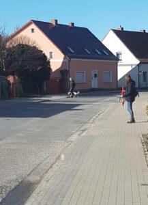erste Übung - Halt an der Straße