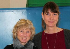 Marion Sutter - 2. Vorsitzende (links) und Sabine Eggert - 1. Vorsitzende