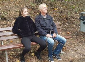 Vater und Tochter - Caro und Detlef