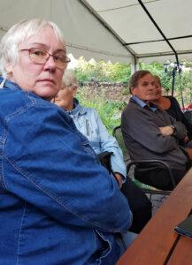 ein Extra-Foto zum Schluss der linken Sitzbankseite - Eva-Maria