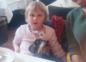 Besuch im feinen Restaurant Al Lago! Sogar die Kleinsten waren zufrieden.
